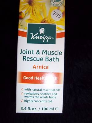Joint & Muscle Arnica Rescue Bath by Kneipp - ONLY AVAILABLE IN UK