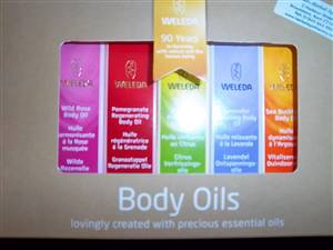 Weleda Mini body oils - CURRENTLY OUT OF STOCK