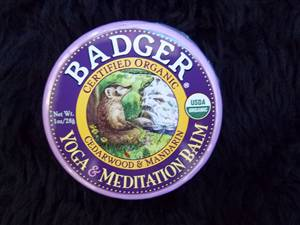 Badger Yoga & Meditation Balm - NOW IN STICK FORM ONLY