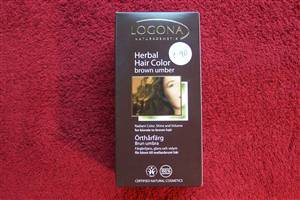 Logona Brown Umber Hair Colour