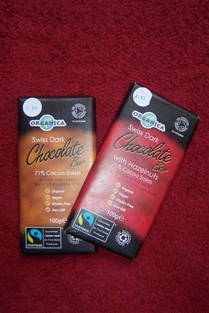 Organic/Fairtrade Dark Chocolate