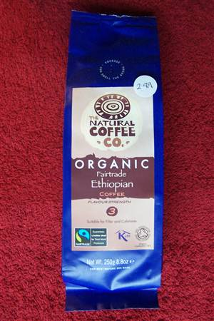 Coffee - Organic/Fairtrade - currently out of stock