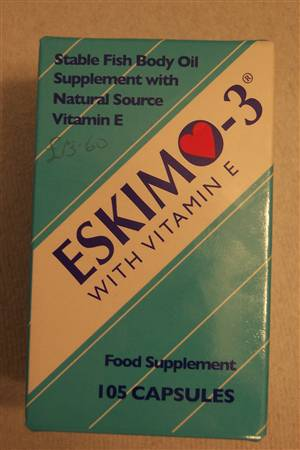 Eskimo 3 fish oil capsules