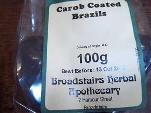 Carob Brazil Nuts 250GM IN STOCK