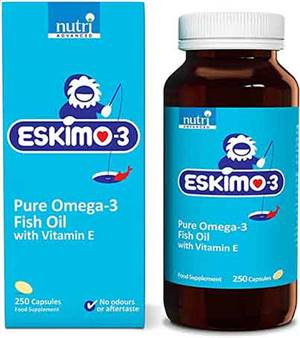 Eskimo 3 fish oil capsules