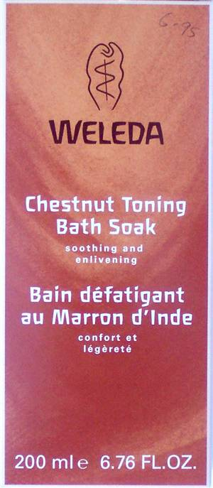 Weleda Chestnut Toning Bath Soak (CURRENTLY NOT IN STOCK)