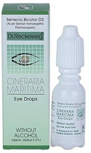 Cineraria eye drops