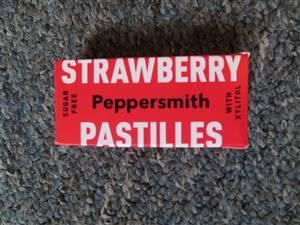 strawberry pastille
