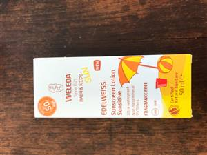 Edelweiss Sensitive Sun Lotion SPF50